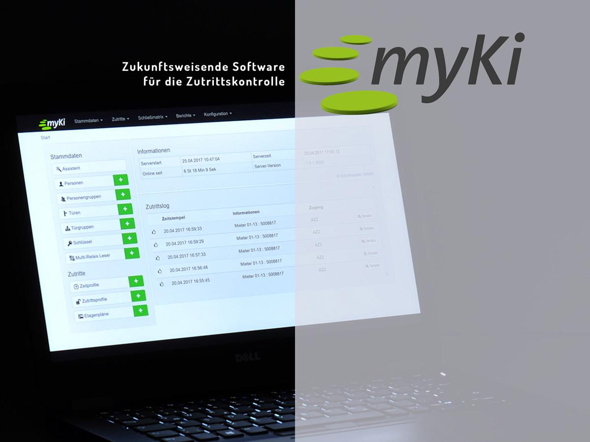 Myki - Access - Zukunftsweisende Software für die Zutrittskontrolle